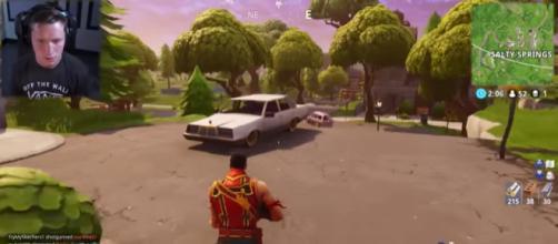 A screenshot from 'Fortnite' Battle Royale - [TmarTn2/YouTube]