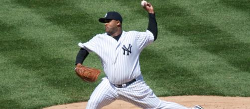 CC Sabathia continued his early season dominance with a victory over his former team. - [Image via Chris Ptacek / Wikimedia Commons]