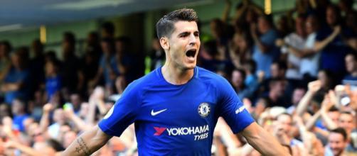 Chelsea striker Alvaro Morata hints he could return to Real Madridk