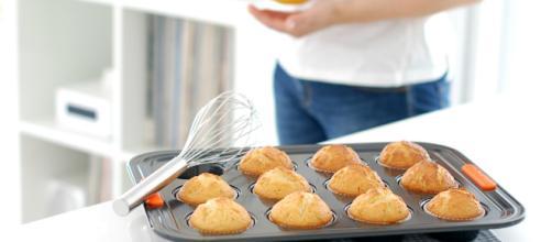 Como hacer Muffins perfectos con almendras - velocidadcuchara.com