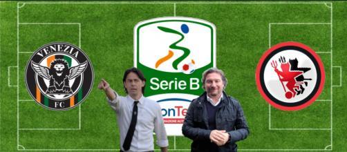 Filippo Inzaghi e Giovanni Stroppa, allenatori di Venezia e Foggia