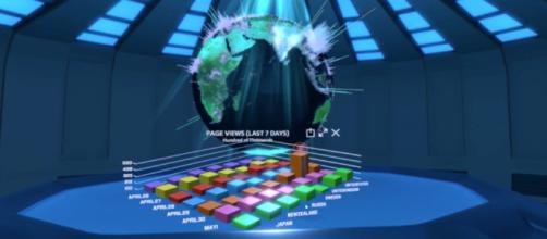 La nueva experiencia de realidad virtual de Adobe para comprender los datos de su empresa.