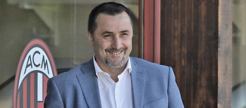 Massimiliano Mirabelli, direttore sportivo del Milan