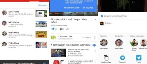 Nuevo compartir y chatear de Youtube, prueba e invitación - elespanol.com
