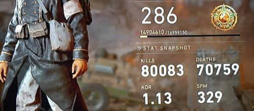 'Call of Duty WWII' character statistics. - [Image via John Harrah]