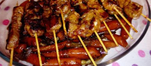 Pinchos morunos con verduras y polenta - 13 recetas caseras - Cookpad - cookpad.com