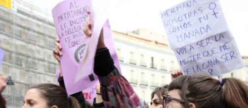 """Protesta por la sentencia del juicio de la mal llamada """"manada """""""