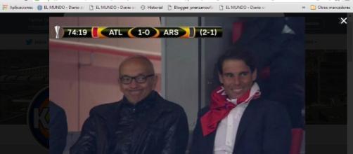 Rafael Nadal: nuevo fichaje rojiblanco