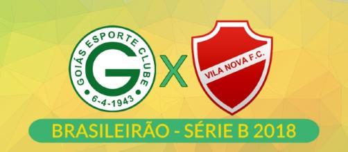 Série B: Goiás x Vila Nova ao vivo. (foto reprodução).