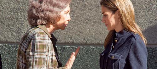 Sofia y Letizia en imagen de archivo