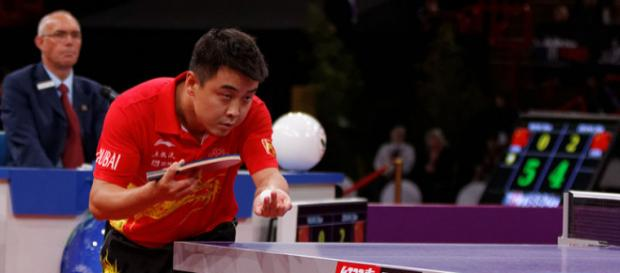 2013 World Table Tennis Championships, Paris (Image credit – Pierre-Yves Beaudouin, Wikimedia Commons)