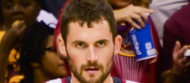 Kevin Love emerged for a monster game to help the Cavs take a 2-0 series lead. - [Image via Erik Drost / Wikimedia Commons]