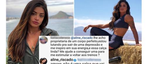 Aline ainda explicou por que não iria fazer isso (Reprodução - Instagram)