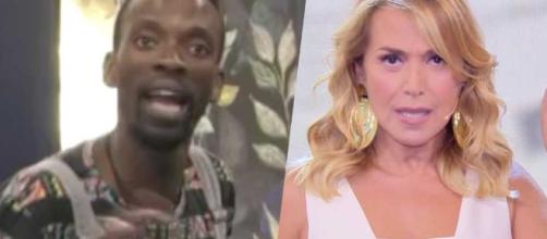 Baye Dame umiliato a Domenica Live chiede scusa