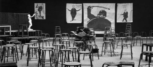 Clases de Arte en la Sorbona, revolución de Mayo del 68