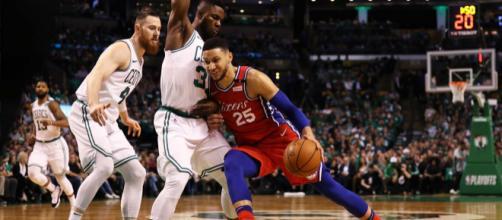 Gara 3 fra Boston Celtics e i Philadelphia 76ers