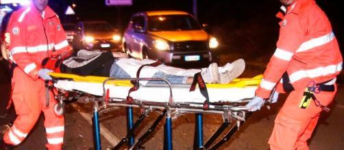 Incidente frontale a Gattatico, in provincia di Reggio Emilia.