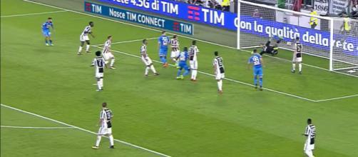 L'ultimo precedente fra Juventus e Napoli a Torino
