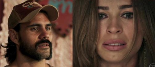 Mariano e Livia no final de 'O Outro Lado do Paraíso'