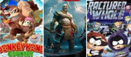 Reseña God of War, Donjey Kong Y South Park Switch