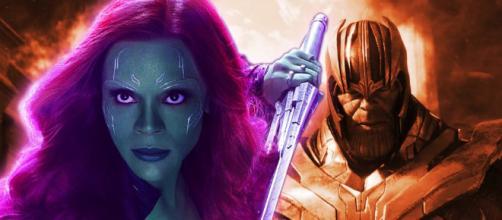 Thanos e Gamora: entre o amor e o ódio