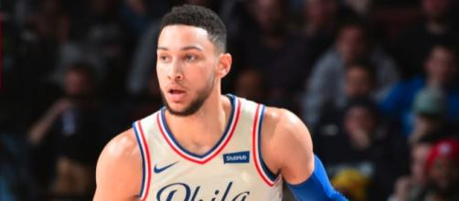 The 76ers' Ben Simmons will try to bounce back with a better performance in Game 3 against the Celtics. [Image source: NBA - YouTube]