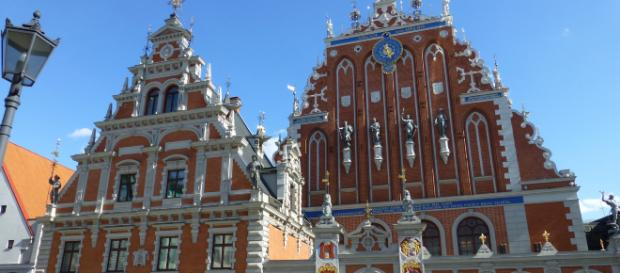 Casa dos Cabeças Negras em Riga