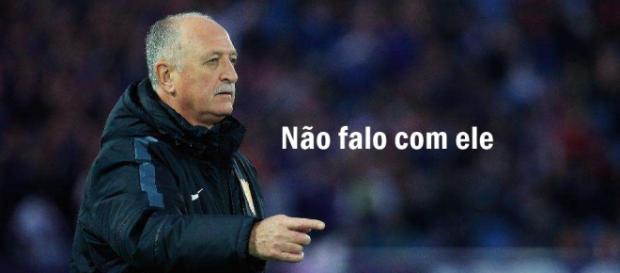 Felipão diz que não fala com Galvão Bueno