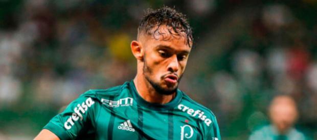 Gustavo Scarpa - Defendendo o Palmeiras