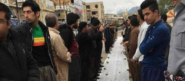 Kurdish protest in Iran past 21 days