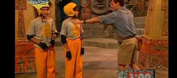 'Legends of the Hidden Temple' episode. - [Nickelodeon / YouTube screencap]
