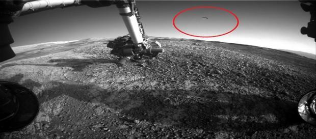 Será essa imagem a prova definitiva de que há vida em Marte? (NASA)