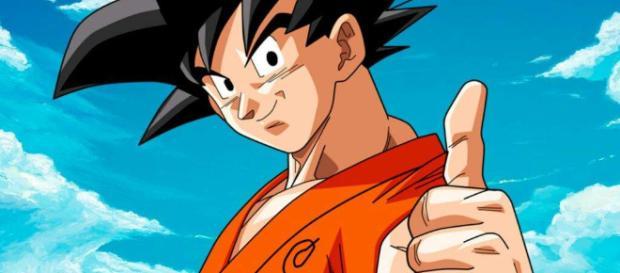 Nappa se mide ante el guerrero Son Goku