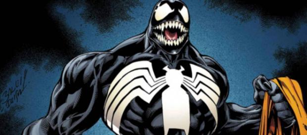 Venom (conocido en España como Veneno), o el simbionte de vida extraterrestre Veneno.