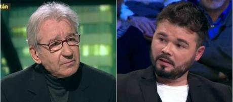 Jose Sacristán y Gabriel Rufián en imagen