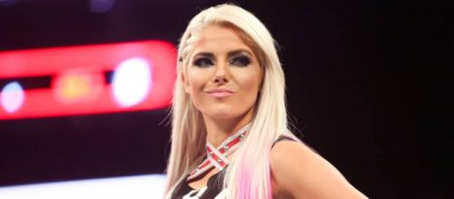 Alexa Bliss is just fine after an injury scare - [image credit: WWE/YouTube]