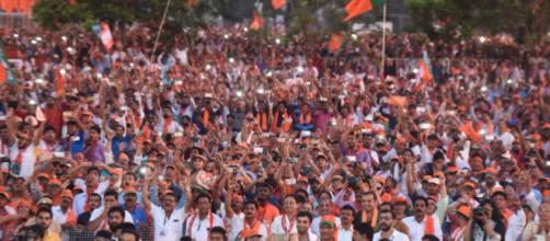 Crowd at Mangaluru, Karnataka [BJP/Twitter]