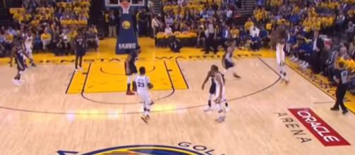 Golden State Warriors win again. - [Image via Rapid Highlights / YouTube screencap]