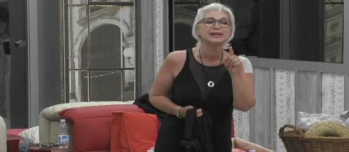 Lucia Bramieri, 57 anni, nella casa del GF Nip