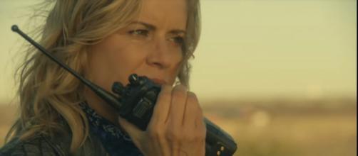 Madison talking to Mel. - [Image credit: Fear the Walking Dead / YouTube screenshot]