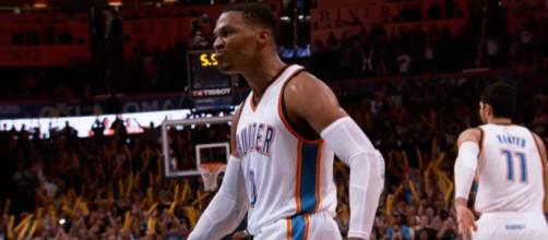 Russell Westbrook might don a different jersey by next season -- NBA via YouTube