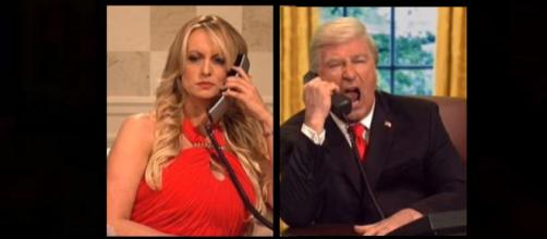 Stormy Daniels taunts Trump on 'SNL.' - [Photo: Today Show / YouTube Screencap]