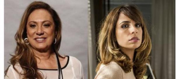 Maria Ribeiro fala sobre o que pensava de Eliane. (foto reprodução).
