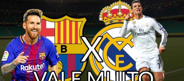 Superclássico: Barcelona x Real Madrid ao vivo