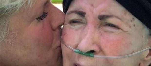 Xuxa compartilhou mais momentos com sua mãe