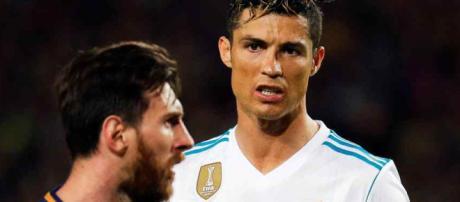 Cristiano Ronaldo voltaram a enfrentar-se