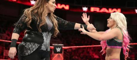 Nia Jax was able to get her hands on Alexa Bliss again at WWE's 'Backlash 2018' PPV Sunday night. - [Image via WWE / YouTube screencap]