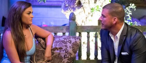 Brittany Cartwright and Jax Taylor appear on the 'Pump Rules' season six finale. [Photo via Bravo TV/YouTube]