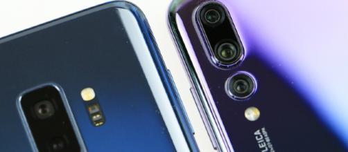 Huawei P20 Pro vs Samsung Galaxy S9 Plus 2 teléfonos inteligentes de alta gama
