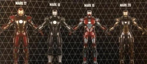 Marvel presentó veinte portadas variadas con motivo del lanzamiento del primer número de Tony Stark: Iron Man, la nueva serie firmada